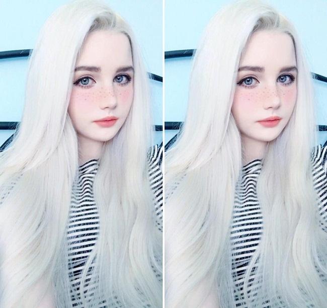 Cô gái lai 18 tuổi sở hữu vẻ đẹp hoàn hảo đến khó tin - hình ảnh 8