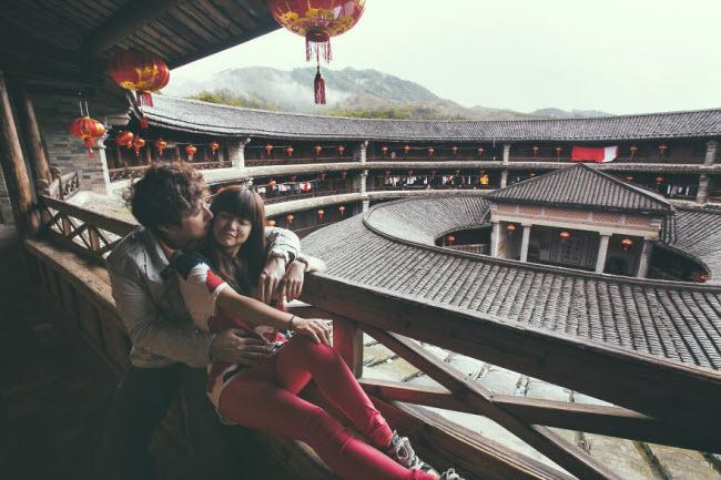 Phát hờn với bộ ảnh siêu cấp đáng yêu của cặp đôi đi khắp thế gian chụp ảnh cưới - hình ảnh 5