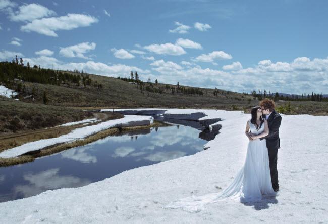 Phát hờn với bộ ảnh siêu cấp đáng yêu của cặp đôi đi khắp thế gian chụp ảnh cưới - hình ảnh 15