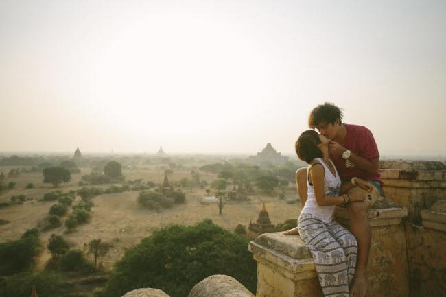 Phát hờn với bộ ảnh siêu cấp đáng yêu của cặp đôi đi khắp thế gian chụp ảnh cưới - hình ảnh 16