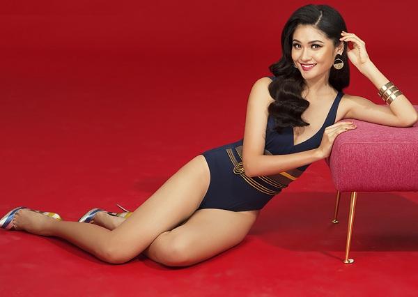 Á hậu Thùy Dung hiếm hoi khoe dáng với bikini khêu gợi - hình ảnh 8