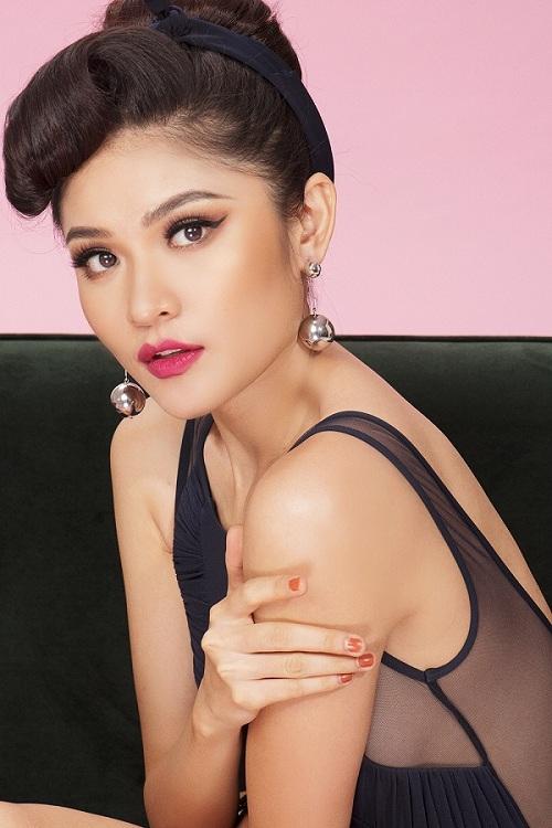 Á hậu Thùy Dung hiếm hoi khoe dáng với bikini khêu gợi - hình ảnh 9