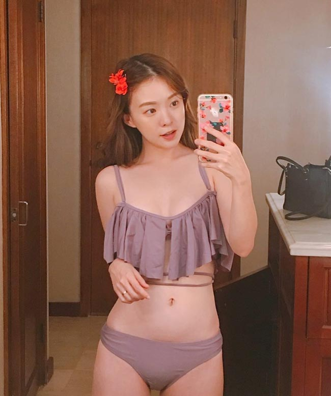 """""""Thiên thần nội y"""" xứ Hàn khiến trai trẻ đổ xô theo dõi Instagram - hình ảnh 12"""