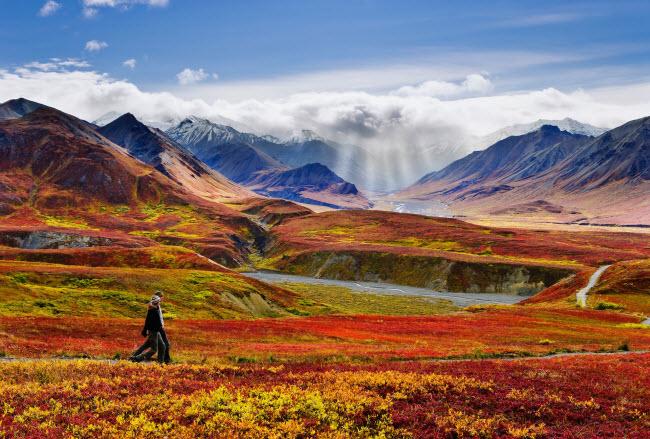 19 bức ảnh minh chứng Alaska là nơi đẹp nhất Trái đất - hình ảnh 1