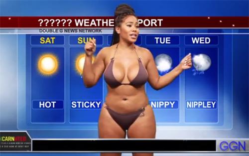 Khó tin khi thấy MC truyền hình ăn vận thiếu vải lúc lên sóng - hình ảnh 11