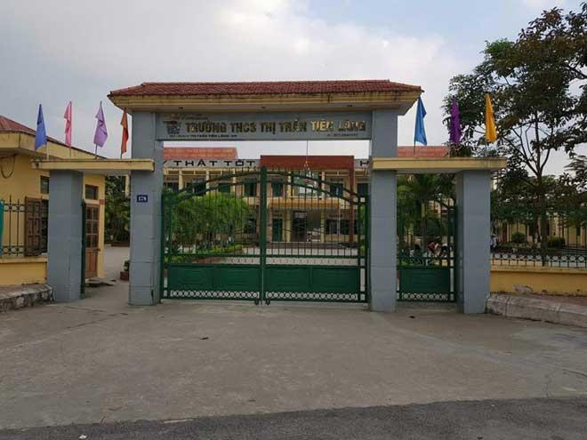 Hải Phòng: Chủ tịch thị trấn Tiên Lãng bị điều tra - hình ảnh 1