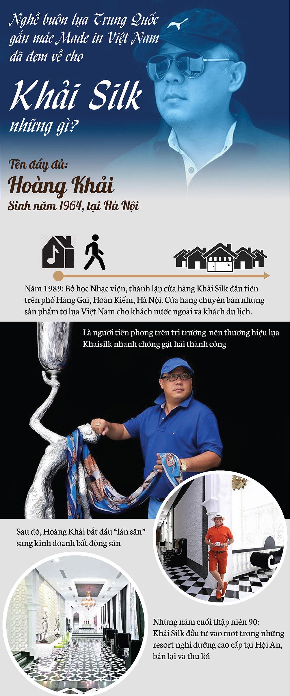 Nghề buôn lụa Trung Quốc gắn mác Made in Việt Nam đã đem về cho Khải Silk những gì? - hình ảnh 1
