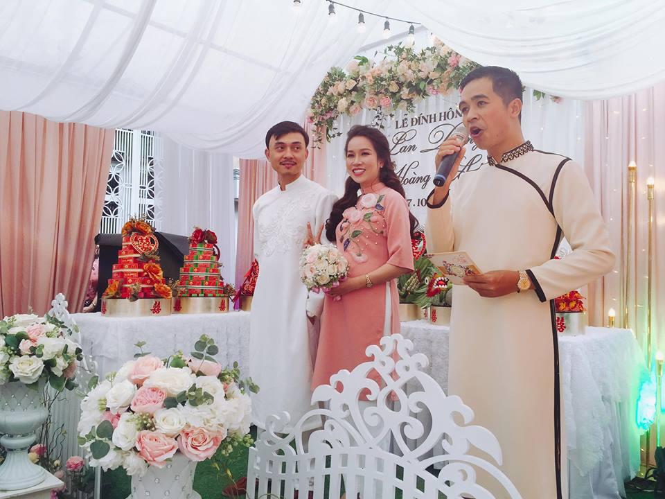 """""""Đàn em Thế Chột Người phán xử"""" tổ chức đám hỏi với cô dâu xinh đẹp - hình ảnh 5"""