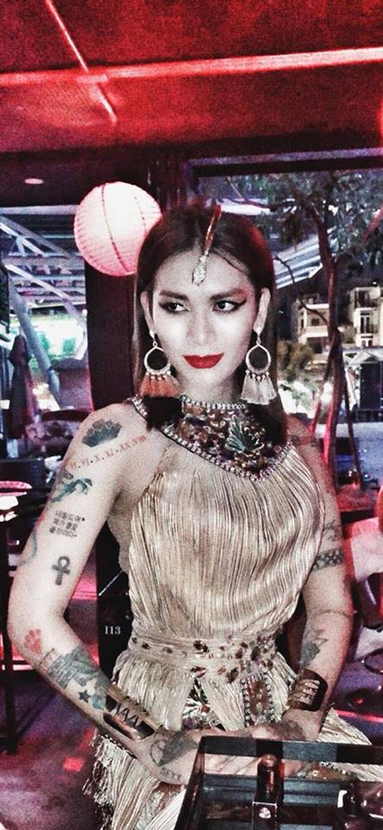 Dàn sao Việt hóa trang ma quái trong đêm Halloween - hình ảnh 4