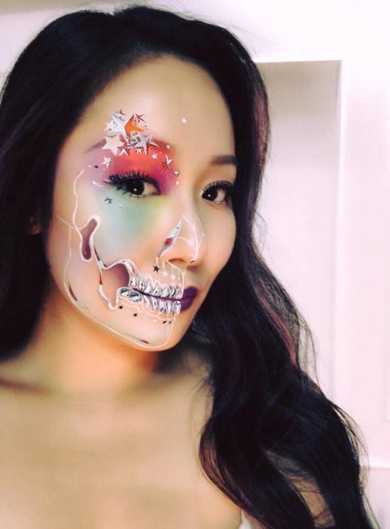 Dàn sao Việt hóa trang ma quái trong đêm Halloween - hình ảnh 1