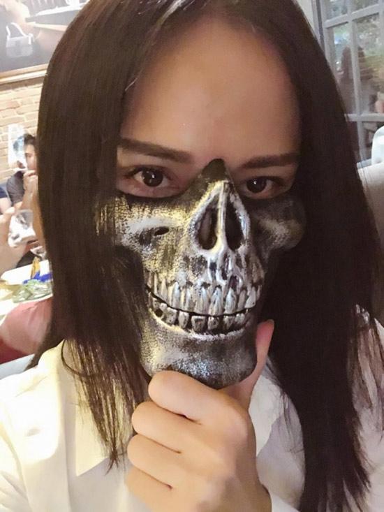 Dàn sao Việt hóa trang ma quái trong đêm Halloween - hình ảnh 3