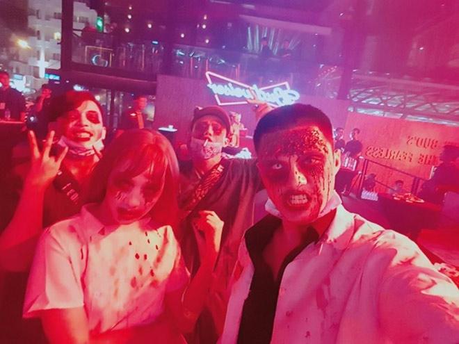 Dàn sao Việt hóa trang ma quái trong đêm Halloween - hình ảnh 8