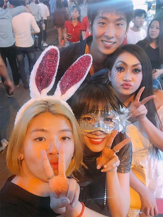 Dàn sao Việt hóa trang ma quái trong đêm Halloween - hình ảnh 5