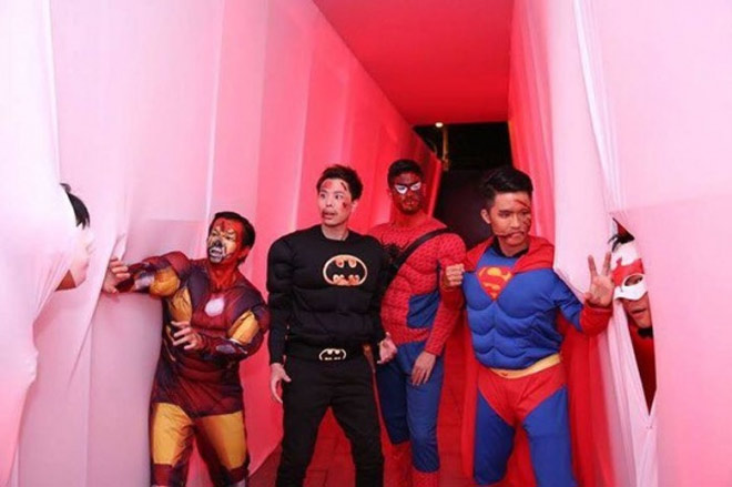 Dàn sao Việt hóa trang ma quái trong đêm Halloween - hình ảnh 9