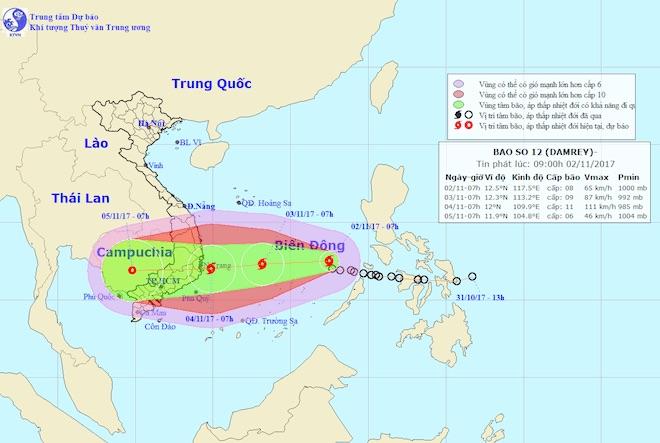 TP.HCM họp khẩn trước nguy cơ ảnh hưởng bởi bão số 12 - hình ảnh 1