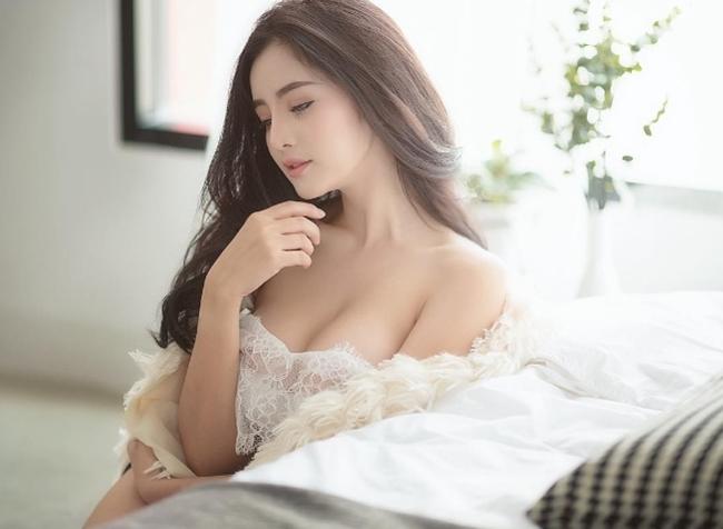 """Chẳng ngực """"khủng"""", cô gái Thái vẫn khiến bao anh xin chết vì đẹp như tiên - hình ảnh 3"""