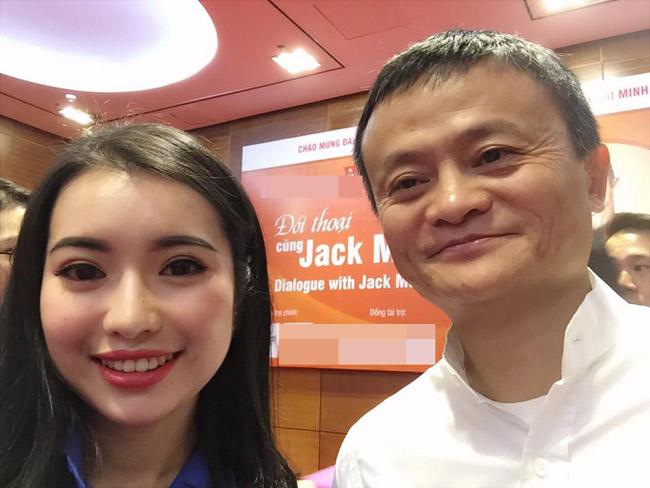 Nữ sinh xinh đẹp được đối thoại cùng Jack Ma là ai? - hình ảnh 1