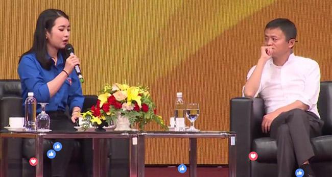 Nữ sinh xinh đẹp được đối thoại cùng Jack Ma là ai? - hình ảnh 2