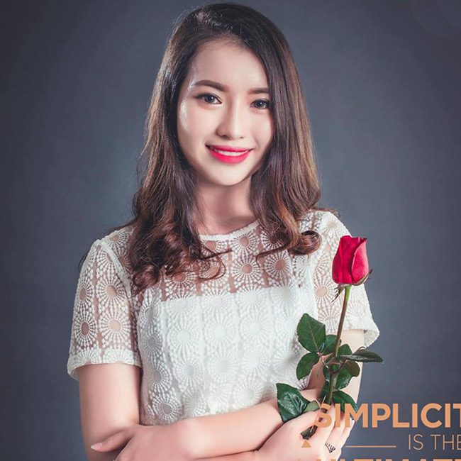 Nữ sinh xinh đẹp được đối thoại cùng Jack Ma là ai? - hình ảnh 13
