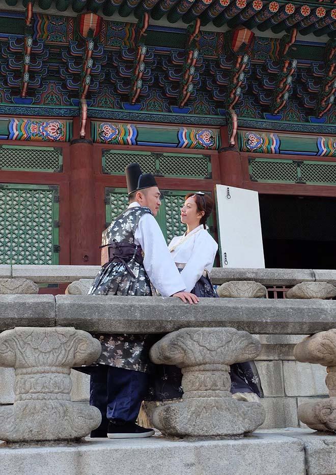 Thu Trang, Tiến Luật sang Hàn Quốc chụp ảnh cưới lần thứ 8 - hình ảnh 3