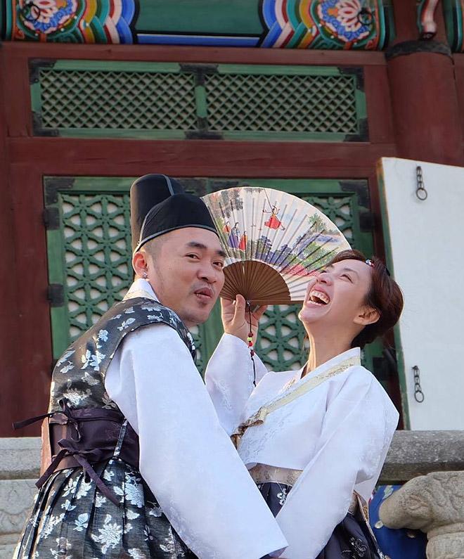 Thu Trang, Tiến Luật sang Hàn Quốc chụp ảnh cưới lần thứ 8 - hình ảnh 2