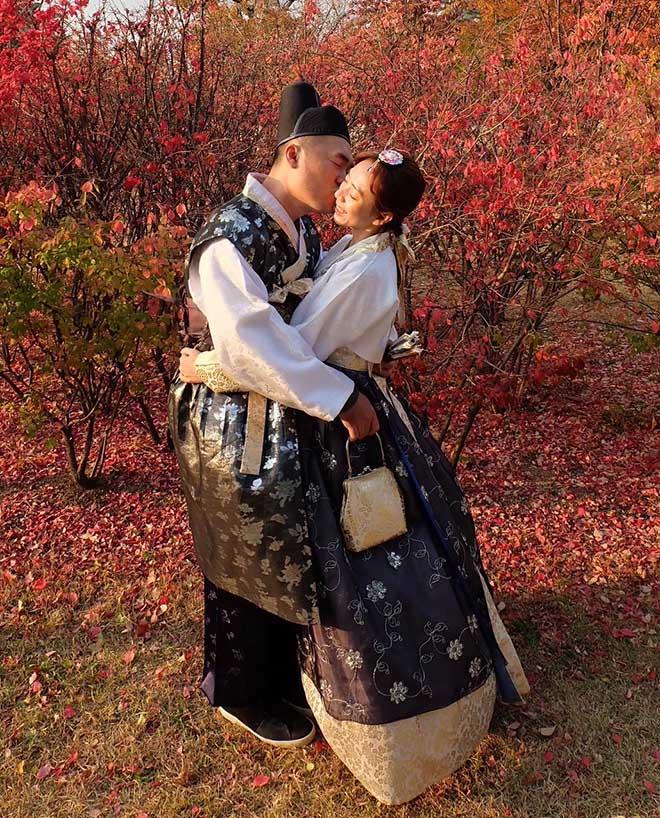 Thu Trang, Tiến Luật sang Hàn Quốc chụp ảnh cưới lần thứ 8 - hình ảnh 5