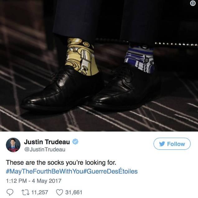 Bí mật sau những đôi tất kì lạ của Thủ tướng Canada điển trai - hình ảnh 4