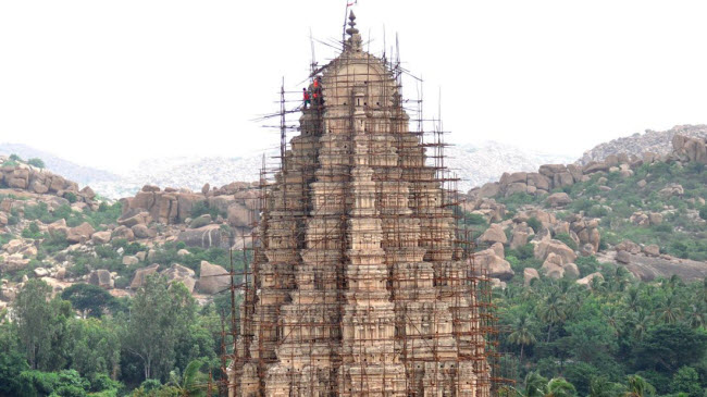 Bí ẩn bên trong thành phố của vua và các vị thần ở Ấn Độ - hình ảnh 21
