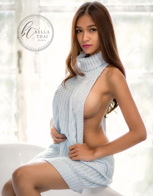 """Da nâu ngực khủng, mẫu Thái khiến bao anh muốn bỏ vợ vì quá """"nóng"""" - hình ảnh 4"""