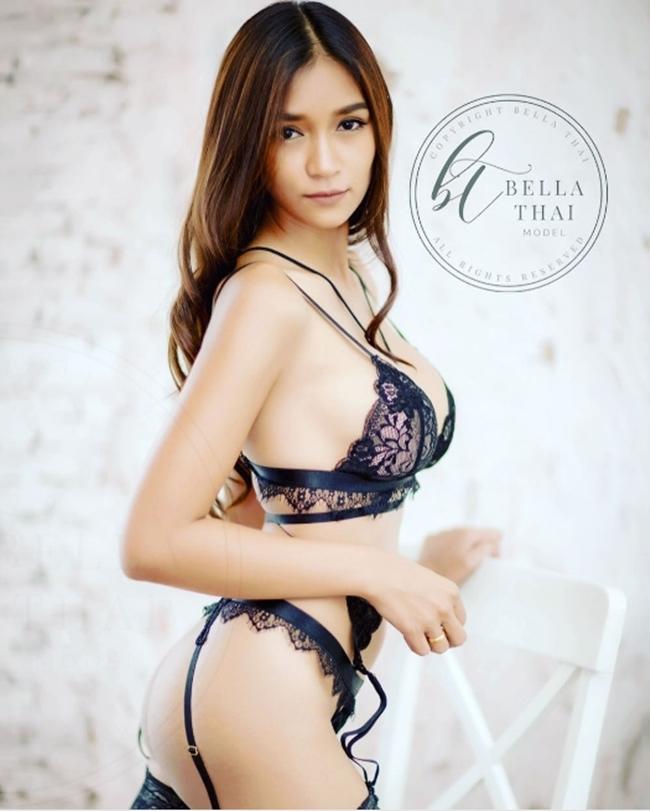 """Da nâu ngực khủng, mẫu Thái khiến bao anh muốn bỏ vợ vì quá """"nóng"""" - hình ảnh 5"""