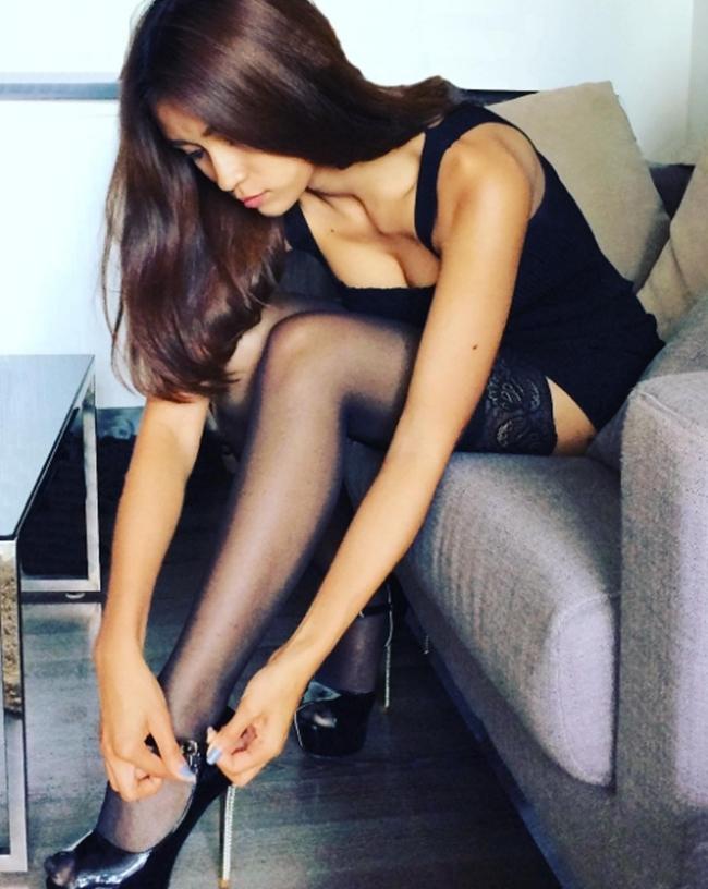 """Da nâu ngực khủng, mẫu Thái khiến bao anh muốn bỏ vợ vì quá """"nóng"""" - hình ảnh 7"""