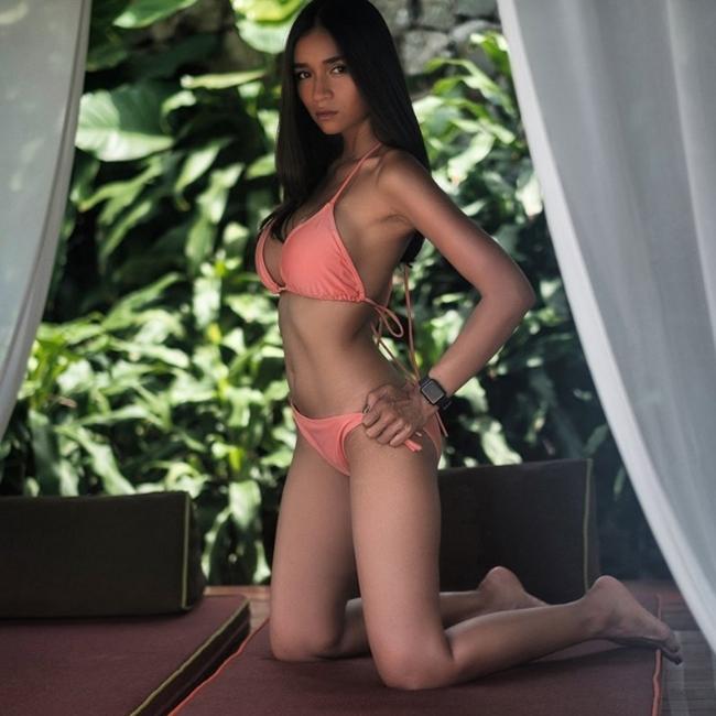 """Da nâu ngực khủng, mẫu Thái khiến bao anh muốn bỏ vợ vì quá """"nóng"""" - hình ảnh 9"""
