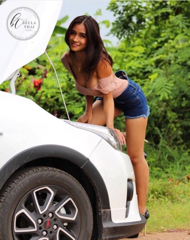 """Da nâu ngực khủng, mẫu Thái khiến bao anh muốn bỏ vợ vì quá """"nóng"""" - hình ảnh 15"""