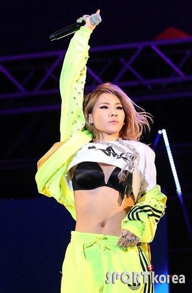 Kiều nữ Hàn gây sốc với đồ diễn ngắn cũn cỡn như nội y - hình ảnh 6