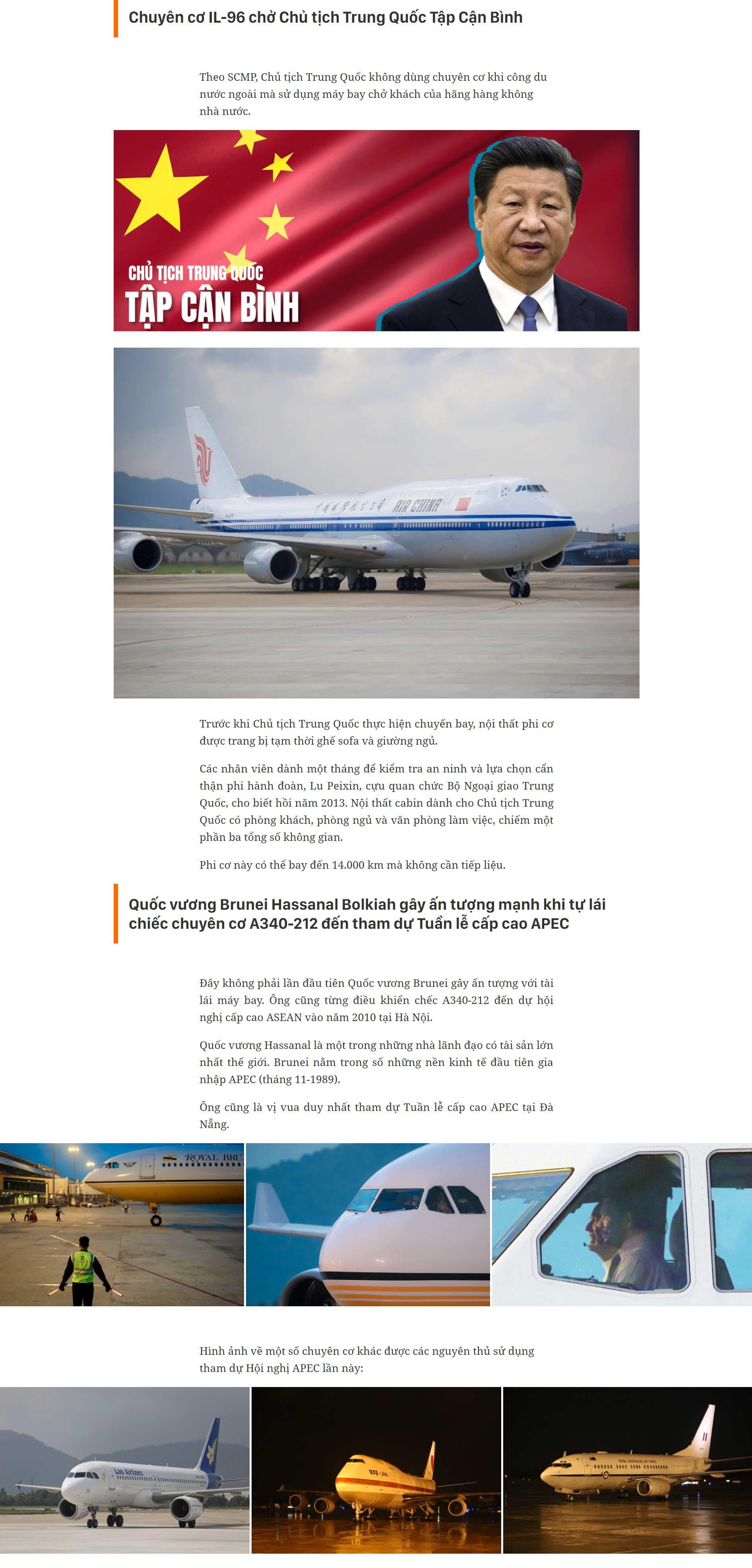 """""""Hàng khủng"""" của các lãnh đạo dự APEC - hình ảnh 2"""