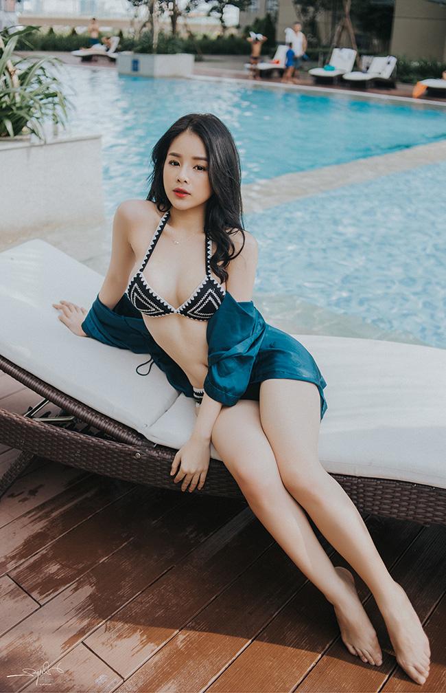 """Lần đầu hở bạo với bikini, """"Hoa hậu DJ"""" không dám đăng ảnh lên Facebook - hình ảnh 7"""