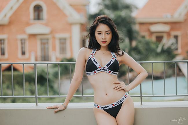 """Lần đầu hở bạo với bikini, """"Hoa hậu DJ"""" không dám đăng ảnh lên Facebook - hình ảnh 8"""