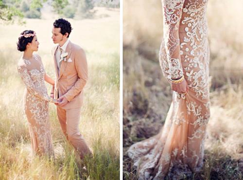 Nàng dâu diện váy cưới như cởi trần liệu có khiến quan khách giật mình? - hình ảnh 9