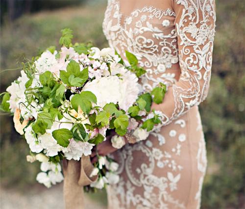 Nàng dâu diện váy cưới như cởi trần liệu có khiến quan khách giật mình? - hình ảnh 11