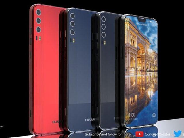 Ngắm concept Huawei P11 X với màn hình đẹp như iPhone X