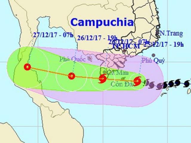 Cơ quan khí tượng nói gì việc dự báo bão số 16 (bão Tembin)?