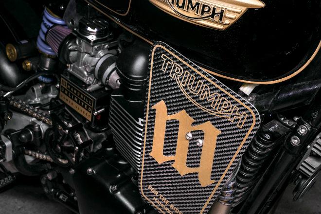 """Ngắm bản độ Triumph T100 chinh phục từ """"cao tốc tới địa ngục"""" - 10"""