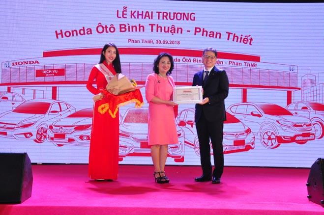 Honda Việt Nam tiếp tục mở rộng thị trường khu vực Duyên hải Nam Trung Bộ: Khai trương Honda Ôtô Bình Thuận - Phan Thiết - 4
