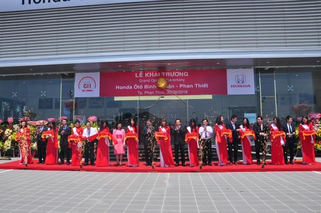 Honda Việt Nam tiếp tục mở rộng thị trường khu vực Duyên hải Nam Trung Bộ: Khai trương Honda Ôtô Bình Thuận - Phan Thiết - 2