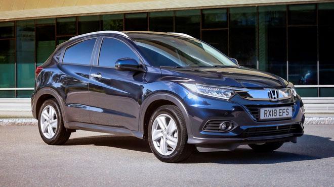 Honda HR-V bản nâng cấp facelift 2019 chính thức ra mắt tại Paris Motor Show - 10