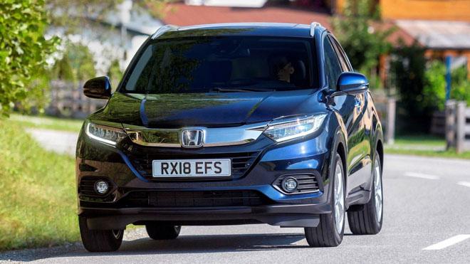 Honda HR-V bản nâng cấp facelift 2019 chính thức ra mắt tại Paris Motor Show - 4