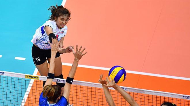 """Bất ngờ: Chân dài 20 tuổi Thái Lan vượt """"thánh nữ"""" bóng chuyền thế giới - 1"""