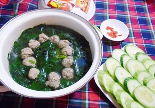 Canh rau ngót nấu mọc thanh mát - 4