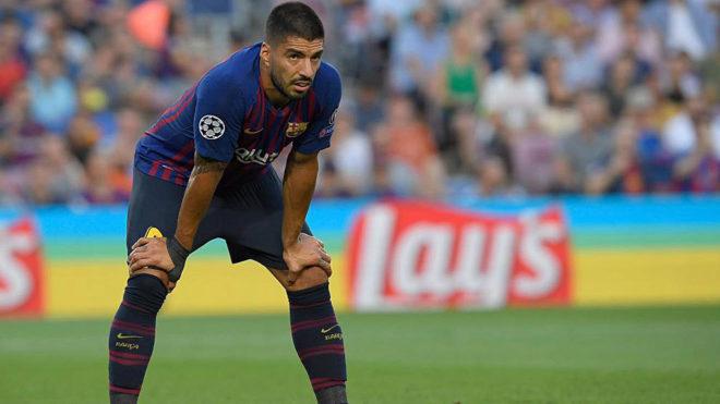 """Luis Suarez 3 năm - 0 bàn thắng: Messi mòn mỏi """"gánh"""" Barca tại Cup C1 - 1"""