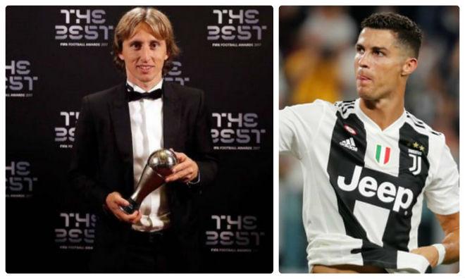 """Modric sợ """"lời nguyền Bóng vàng"""": Hai tay dâng ngôi báu cho Ronaldo? - 1"""